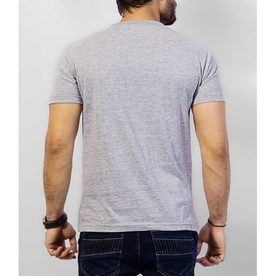 Men's Pack of 5 V-Neck Cotton T-shirts. PV5-TH12