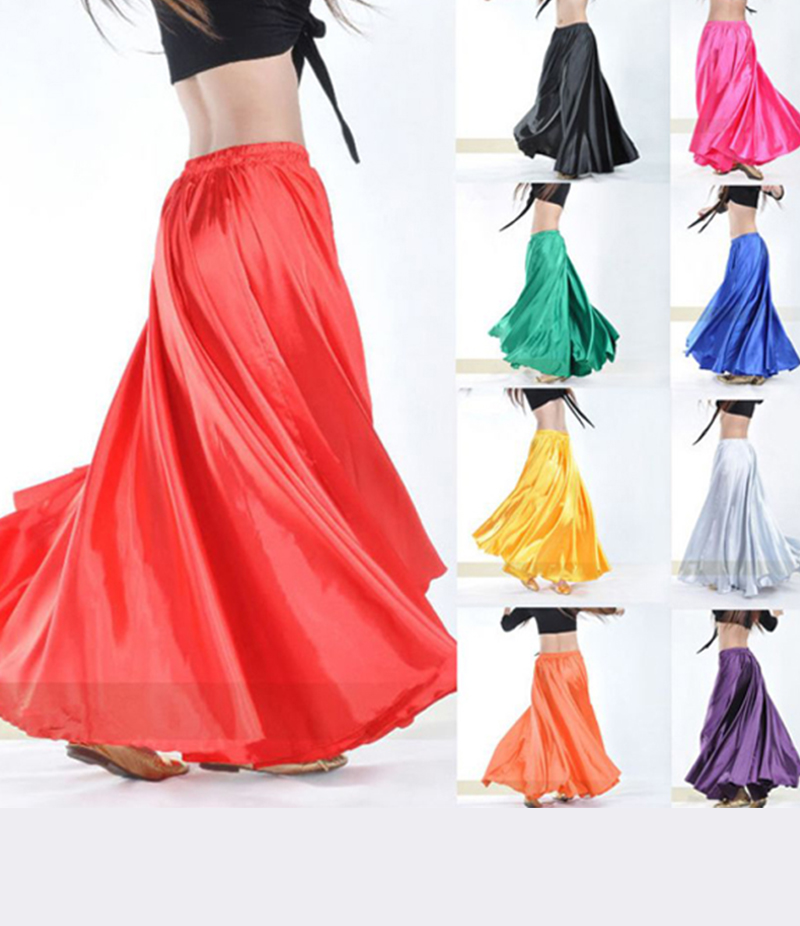 Women's Silk Long Skirt. E4H-SSS029
