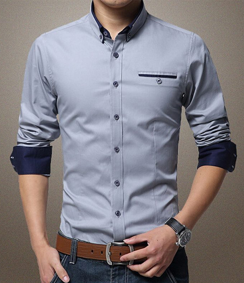 Mens Formal Shirts  Slim amp Tailored Fit Shirts For Men  MampS