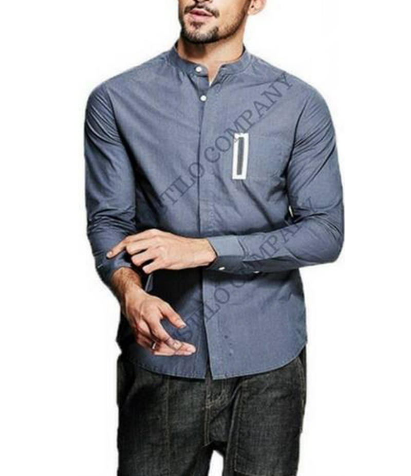 Men's Unique Pocket Style The Midget Shirt. EC-187