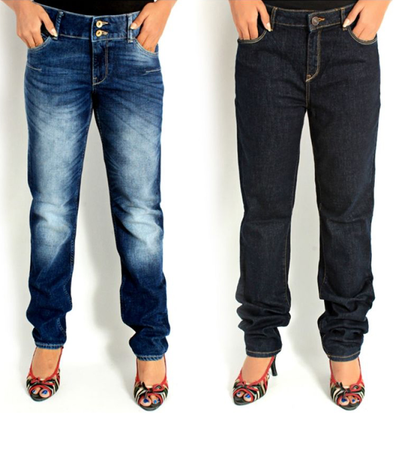 Women's Pack of 2 Denim Jeans. FF-0014