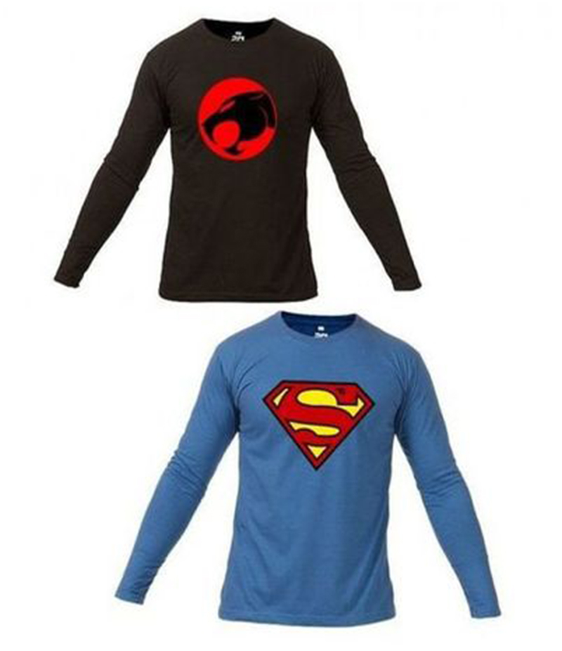 Men's Pack Of 2 Super Heroes T- shirts. FZ-T18