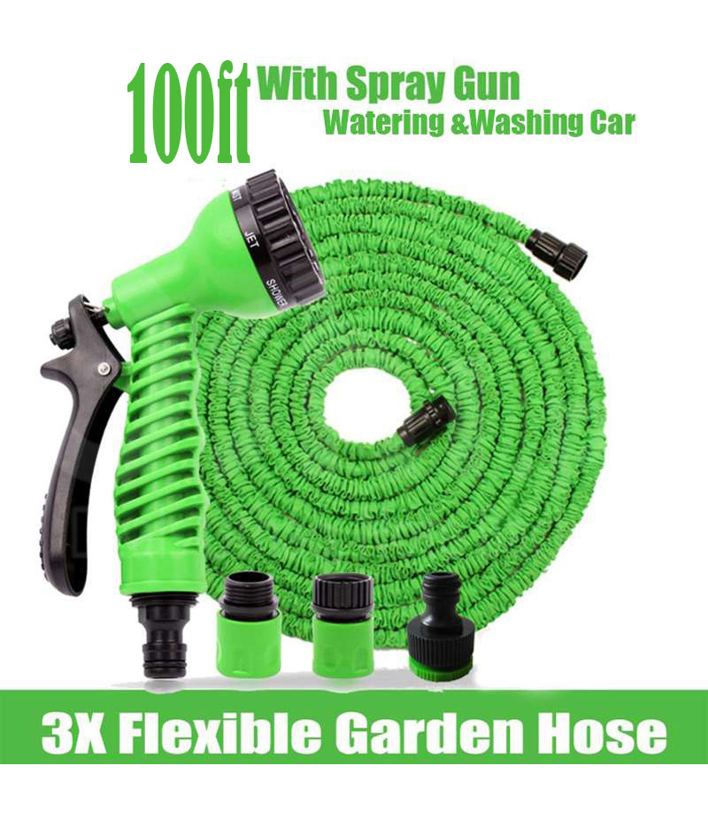Magic Hose (100 ft.) With 7 Spray Gun Functions. GNC-001