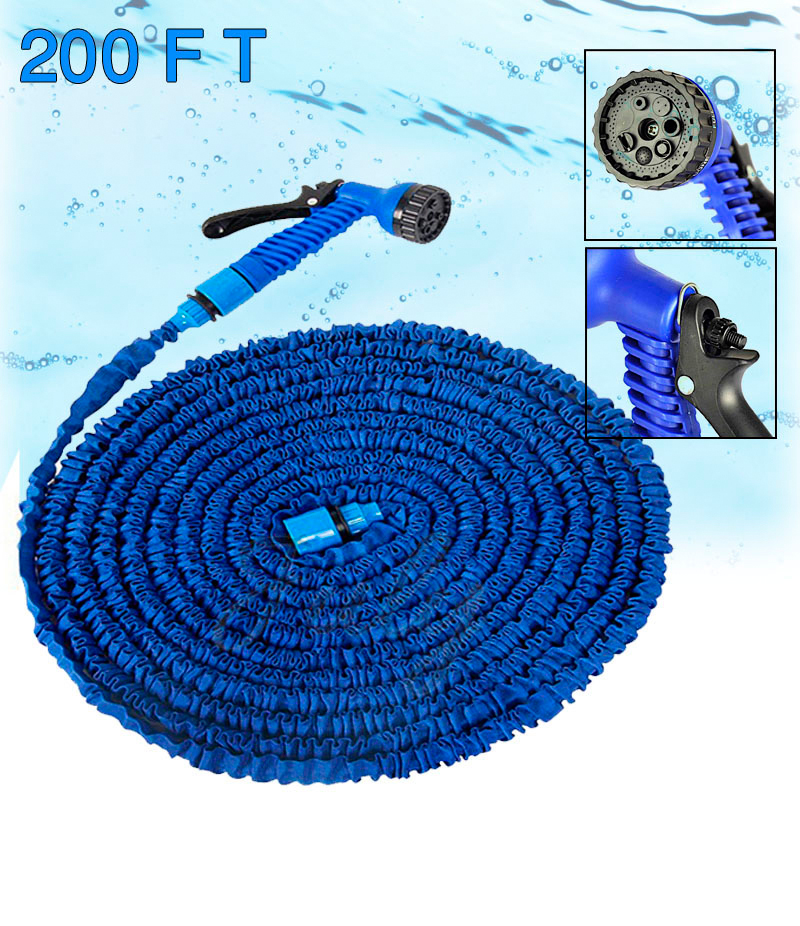 Magic Hose (200 ft.) With 7 Spray Gun Functions. GNC-002