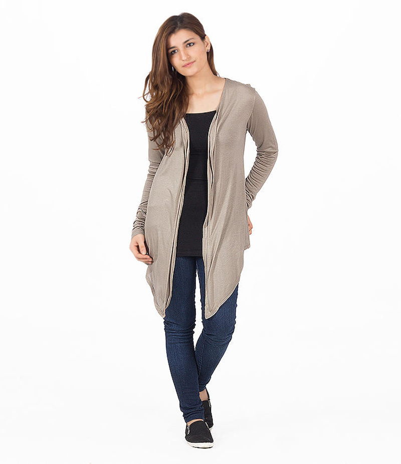 Women's Grey Cocktail Short Shrug. KTY-121-GRY