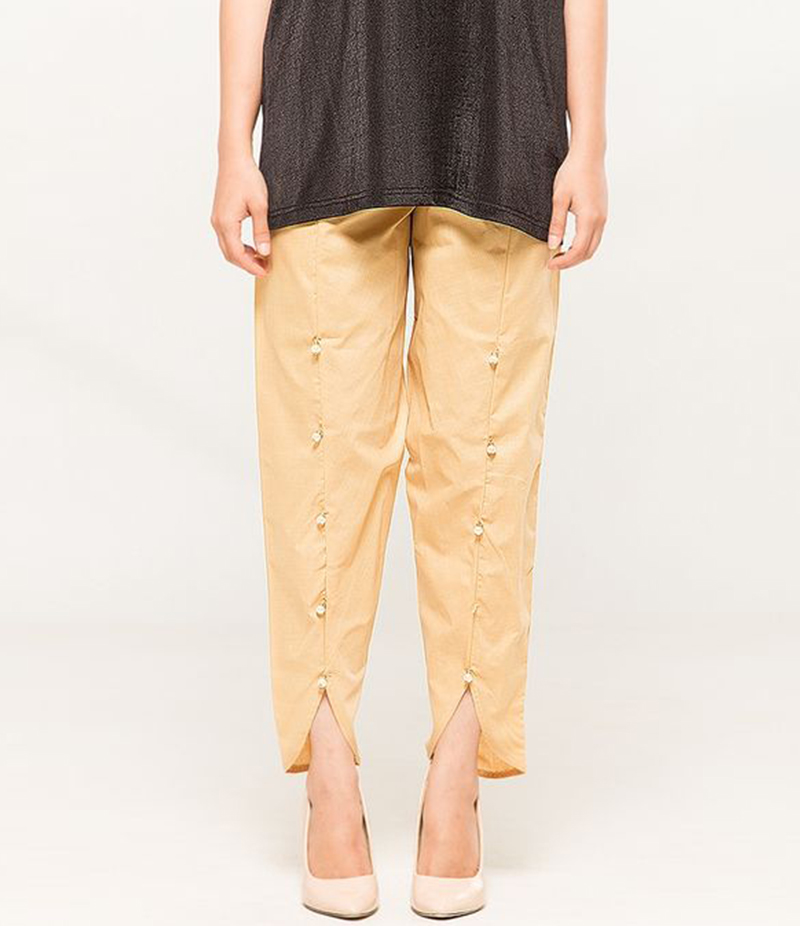 Women's Skin Viscose Tulip Pants. MM-TP1