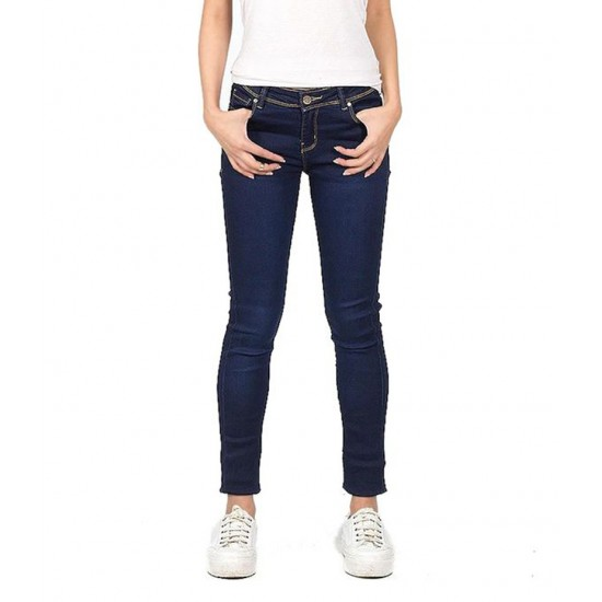 Women's Dark Blue Denim Jeans. SA-J19