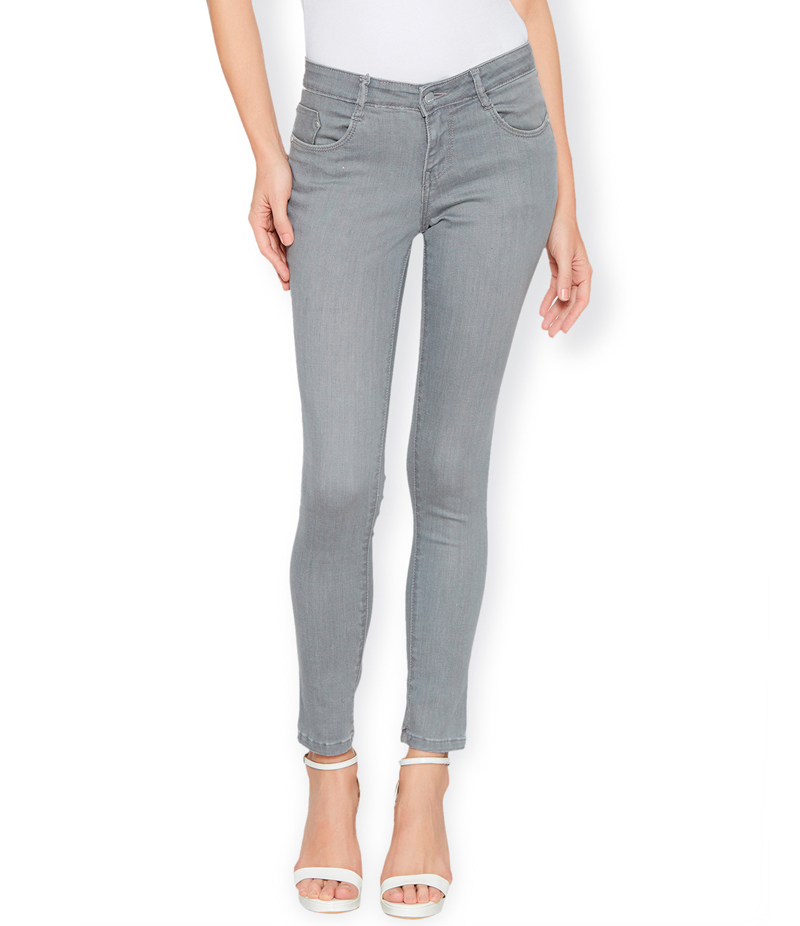Women's Grey Denim Jeans. SA-J34
