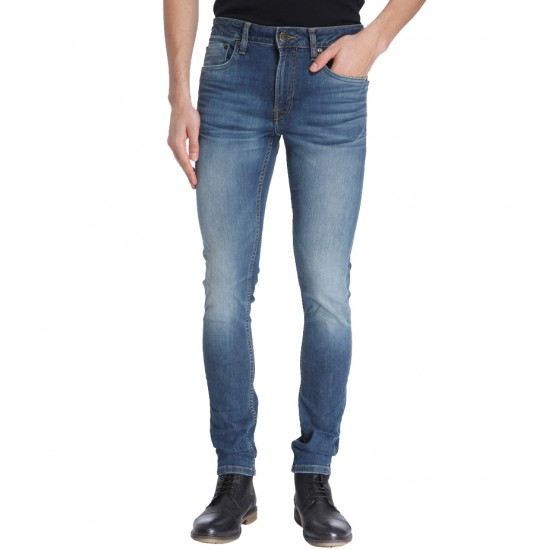 Men's Medium Blue Denim Jeans. WOT-150