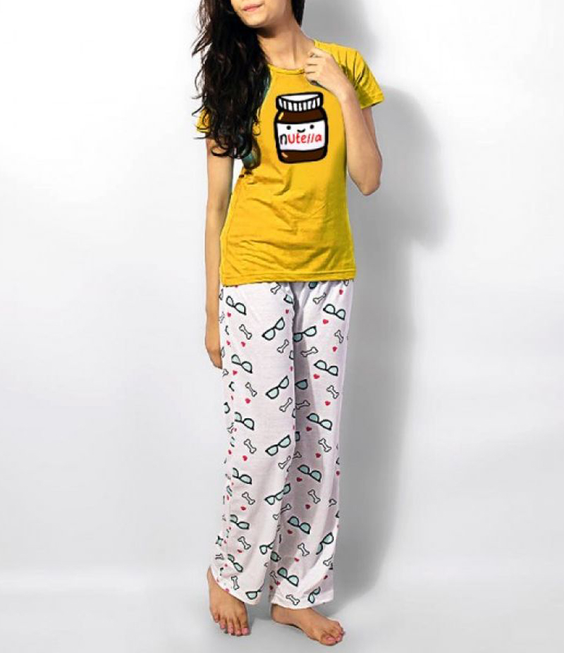 Women's Multi-Colored Soft Cotton Night Suit. UW-171