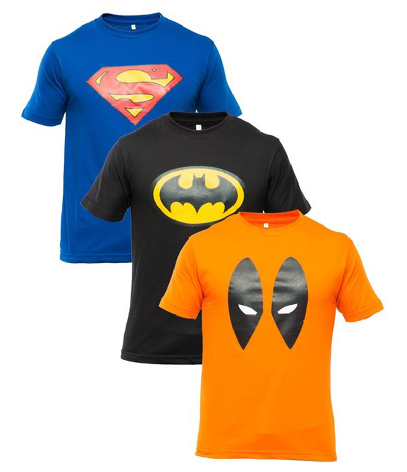 Men's Pack of 3 Printed T-shirts. XH-9261